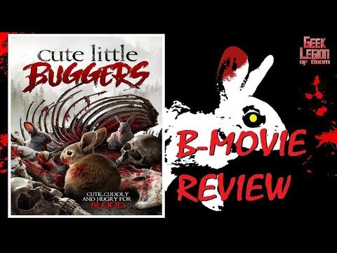 CUTE LITTLE BUGGERS ( 2017 Caroline Munro ) Killer Bunny B-Movie Review