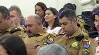 HOMENAGEM AOS 163 ANOS DA POLÍCIA MILITAR NA IGREJA SARA NOSSA TERRA