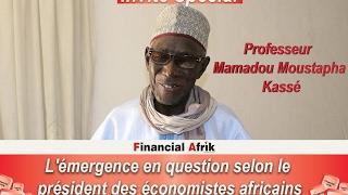 L'émergence en question selon le président des économistes africains