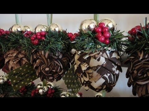 patchwork - pigne natalizie