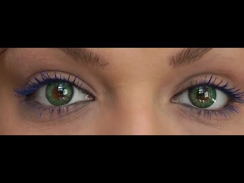 Farbige Kontaktlinsen Test Projekt