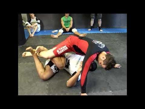 How to Deep Half Z guard to Standing Up