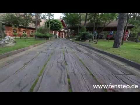 BDO Holzbeton Fensteo | Langliebige Holzimitation für den Garten