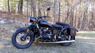 8. Ural Retro M70 All-Black Custom from Ural of New England, Boxborough MA