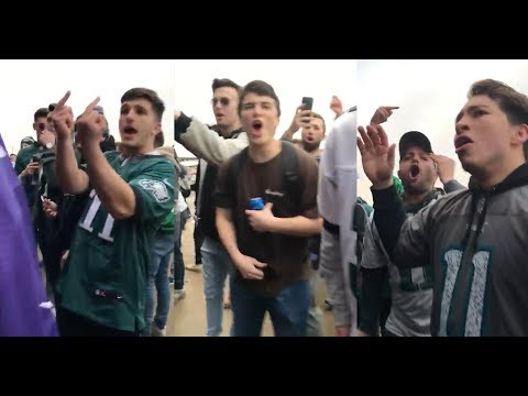 Stay classy, Eagles fans