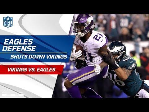 Video: Philly Defense Shuts Down Minnesota! | Vikings vs. Eagles | NFC Championship Player HLs