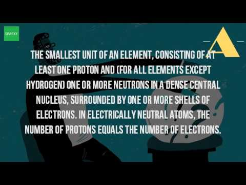 What Is The Definition Of The Word Atom?