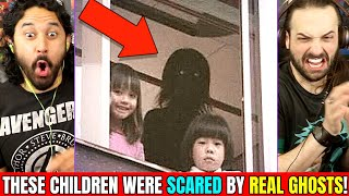 THESE CHILDREN WERE SCARED BY REAL GHOSTS - REACTION!  [👻 Slapped Ham 😱] by The Reel Rejects