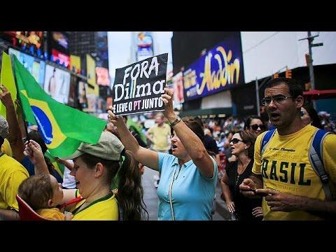 Αντικυβερνητική αγανάκτηση στη Βραζιλία