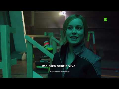 Capitana Marvel - Making of: Entrenamiento de Brie Larson?>