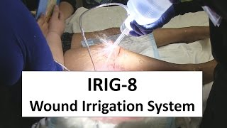 In this video I try out for the first time a new wound irrigation system and learn some interesting lessons a long the way!
