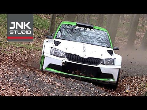 Škoda Motorsport Test / Jan Kopecký / Škoda Fabia R5