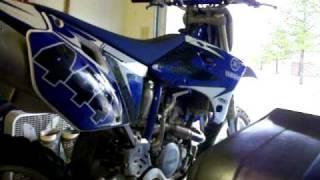 8. 2005 Yamaha Yz250f