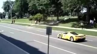 Lustige Autofahrer