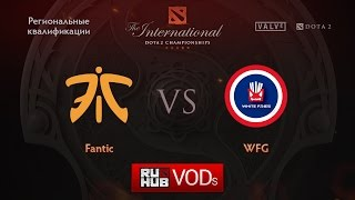 Fnatic vs WFG, game 1