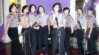 Polwan Polda Jabar Bernyanyi Jadong (Janda Bodong)
