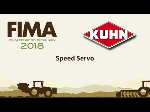 FIMA 2018 - TECHNICAL NOVELTY KUHN - SPEED SERVO