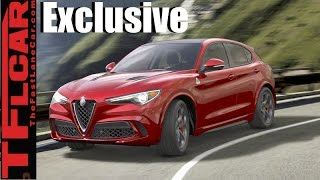 2018 Alfa Romeo Stelvio TFL Exclusive: Exhaust Note & New Alfa Revealed! by The Fast Lane Car