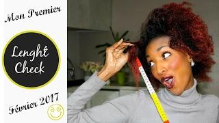 Apprenez à mesurer vos cheveux avec mon premier Lenght Check de l'année !