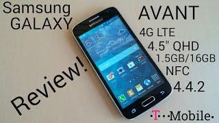 Samsung Galaxy Avant 1.5GB/16GB 4G LTE NFC 4.5