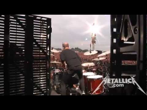 MetallicaTV - Footage includes Lars with his Danish friends in the meet and greet, Straw from the Tuning Room, pre-show huddle, and Hell And Back from the show.