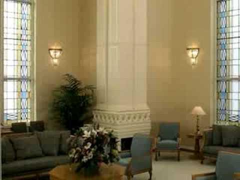 Interior dos Templos Mormons