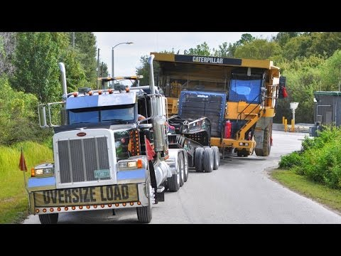 haul truck crash - Learn about the process of moving a over-sized & over-weight machine. After the Kidz and Rigs event held in Brooksville, Florida. All Around Equipment, Inc m...