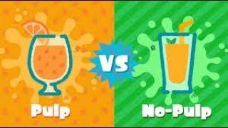 Ew. Pulp. (Splatoon 2 Pulp vs No Pulp Splatfest!) by SkulShurtugalTCG