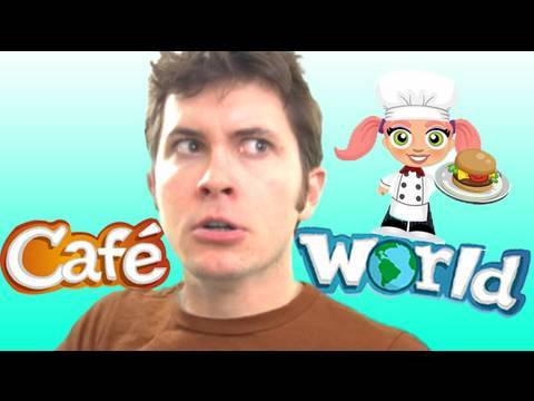 CAFE WORLD Commercial!! (Facebook Parody #3)