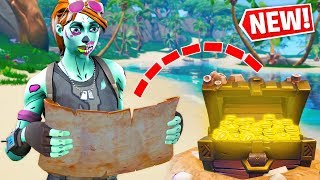 Can I Win with TREASURE MAP LOOT ONLY?  -  Fortnite Challenge