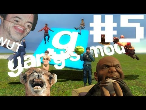 Let's play Garry's Mod! -Part.5- Aliens attack!