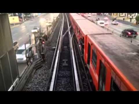 Muere empleado del Metro