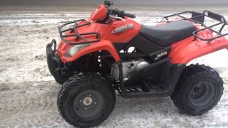 10. 2006 Arctic Cat 250 ATV