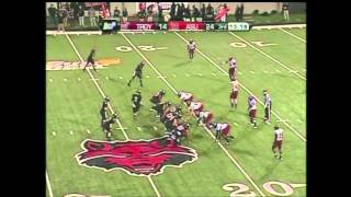 Jonathan Massaquoi vs Arkansas State 2011