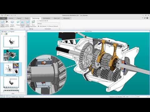 Creo Illustrate Overview Demonstration with CAD Source Update