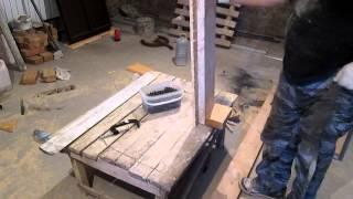 Изготовление бетонной лестницы. ч.4