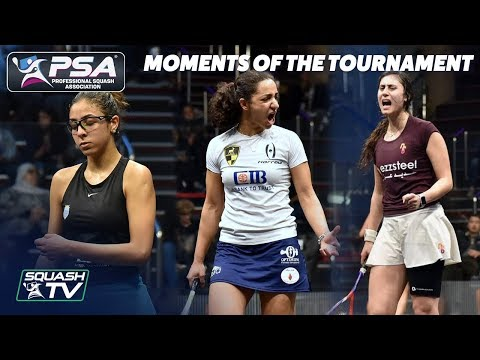 Squash: Moments Of The Tournament - Black Ball Squash Open 2019