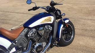 8. 2018 Indian Scout ABS