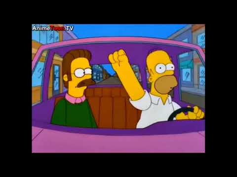 The Simpsons: Homer and Ned go to Las Vegas