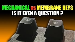 Gaming Keyboards | MECHANICAL vs MEMBRANE | Razer Ornata vs Razer Blackwidow Chroma V2 Review