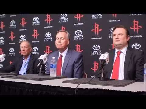 Houston Rockets introduce Mike D'Antoni as their head coach