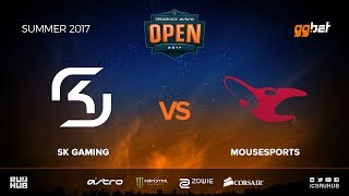 SK Gaming vs mousesports - DREAMHACK Open Summer - map1 - de_inferno [MintGod, Anishared]