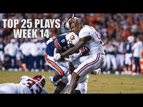 Top 25 Plays From Week 14 Of The 2019 College Football Season ᴴᴰ