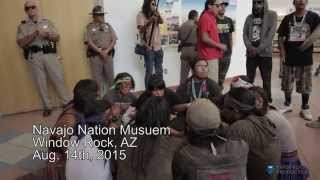 On August 14, 2015 dozens of Diné (Navajo) took action to resist U.S. Senator John McCain's attempts to steal precious water and desecrate sacred lands.