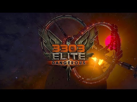 3303 Elite Dangerous - 8k Virtual Reality, New Guardians Site and Space Madness