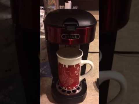 Bella One Scoop One Cup Coffee & Tea Maker