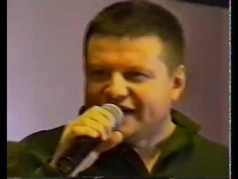 А. Дюмин, В. Ночной, А. Климнюк, В. Забелин: Первое выступление в С. Петербурге, 15. 09. 2000 г.
