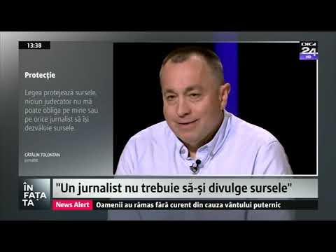 """Cătălin Tolontan """"În fața ta"""", 16 decembrie 2018 Digi24"""