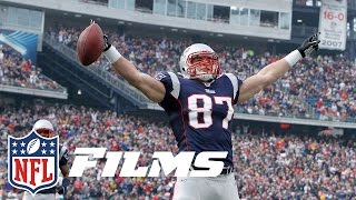 #3 Rob Gronkowski | Top 10 Patriots of All Time | NFL by NFL Films