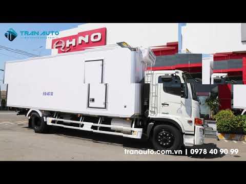 Xe tải đông lạnh Hino tại Tran Auto vẻ đẹp và chất lượng